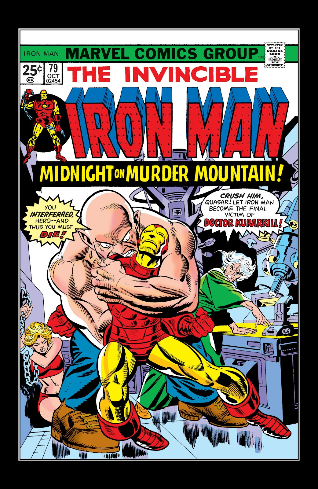 Read online Marvel Masterworks: The Invincible Iron Man comic -  Issue # TPB 10 (Part 2) - 94