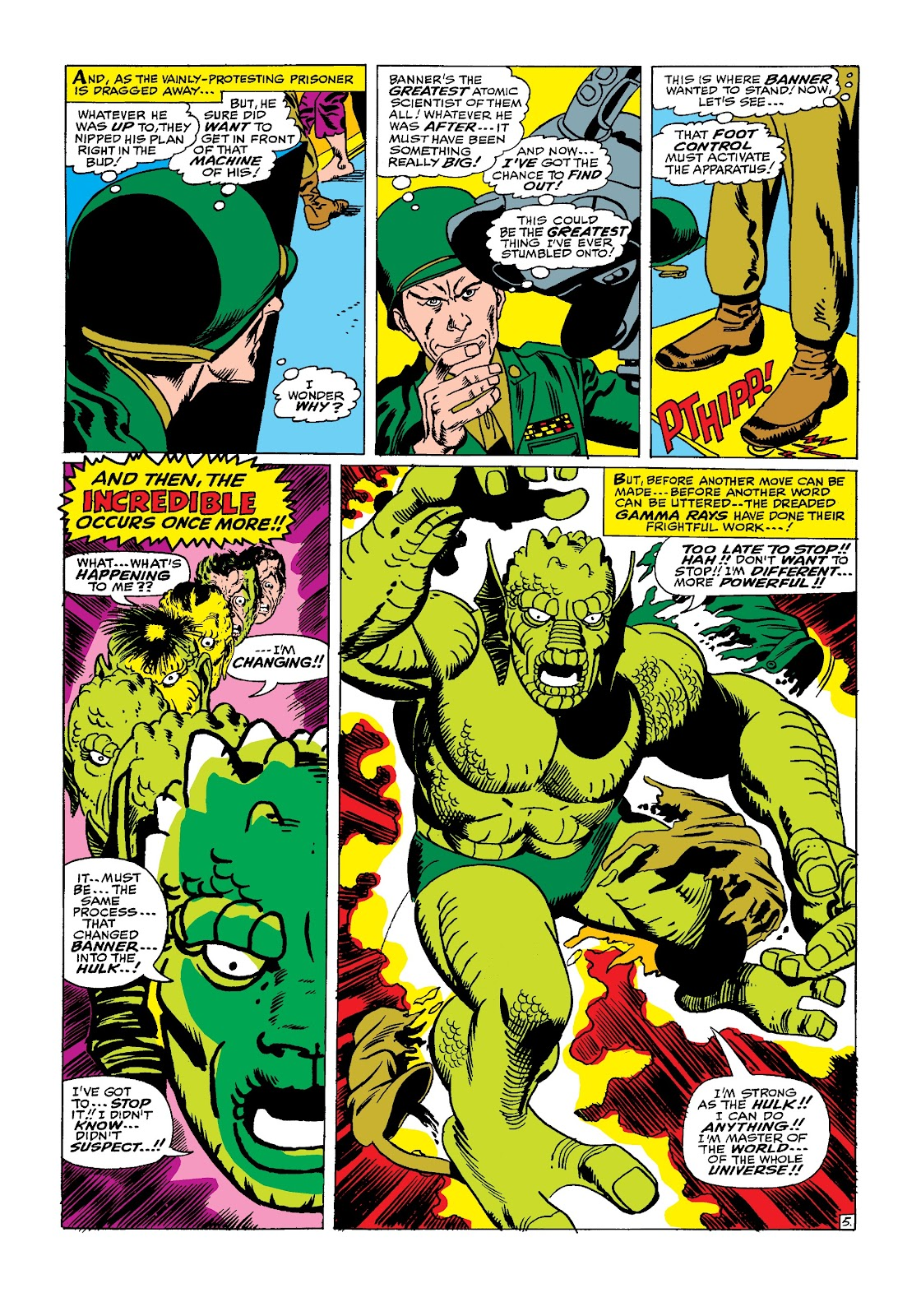 Read online Marvel Masterworks: The Incredible Hulk comic -  Issue # TPB 3 (Part 2) - 22