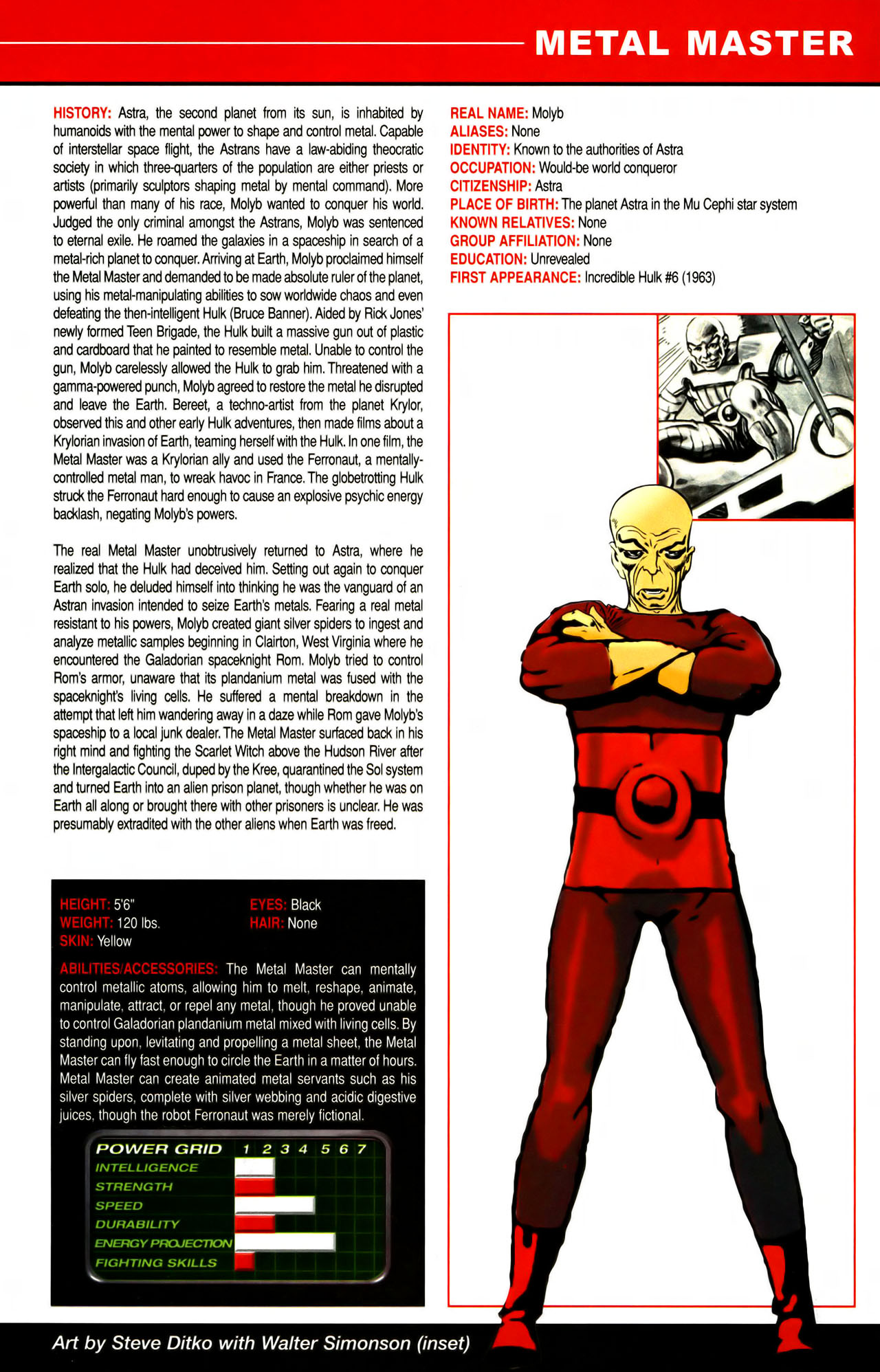 Read online All-New Official Handbook of the Marvel Universe A to Z comic -  Issue #7 - 31