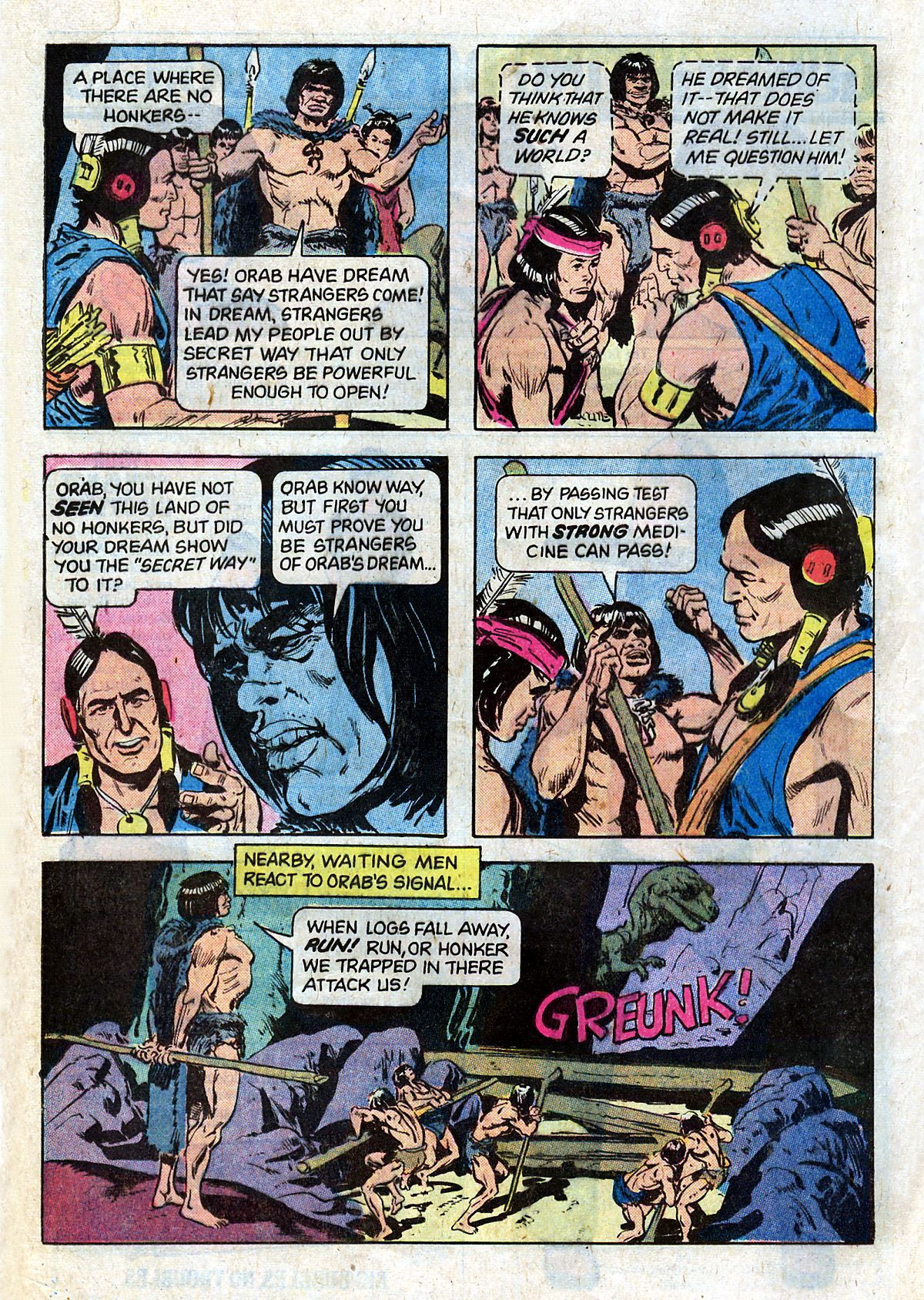 Read online Turok, Son of Stone comic -  Issue #124 - 24