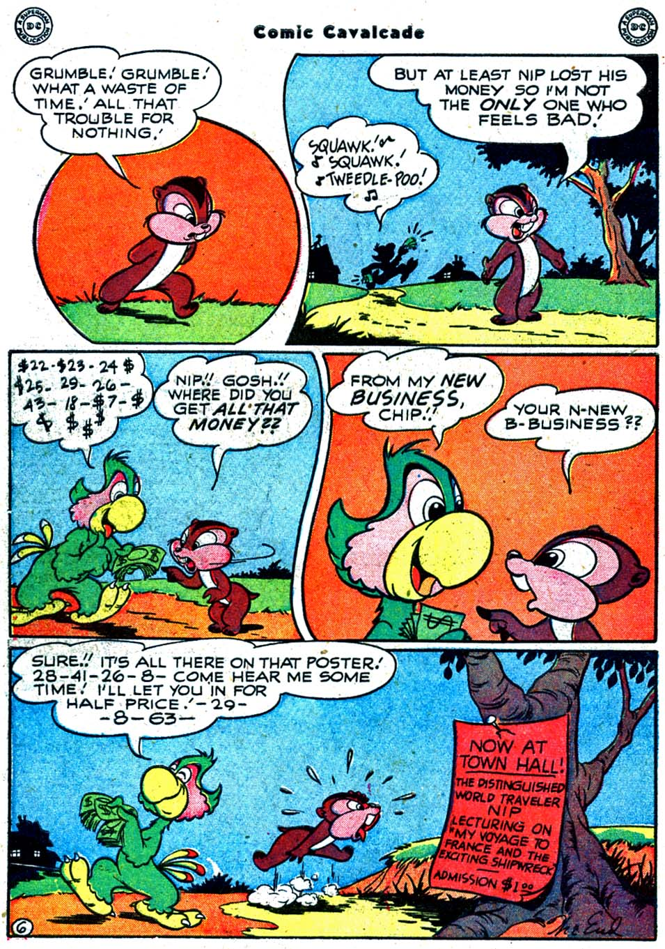Comic Cavalcade issue 32 - Page 54