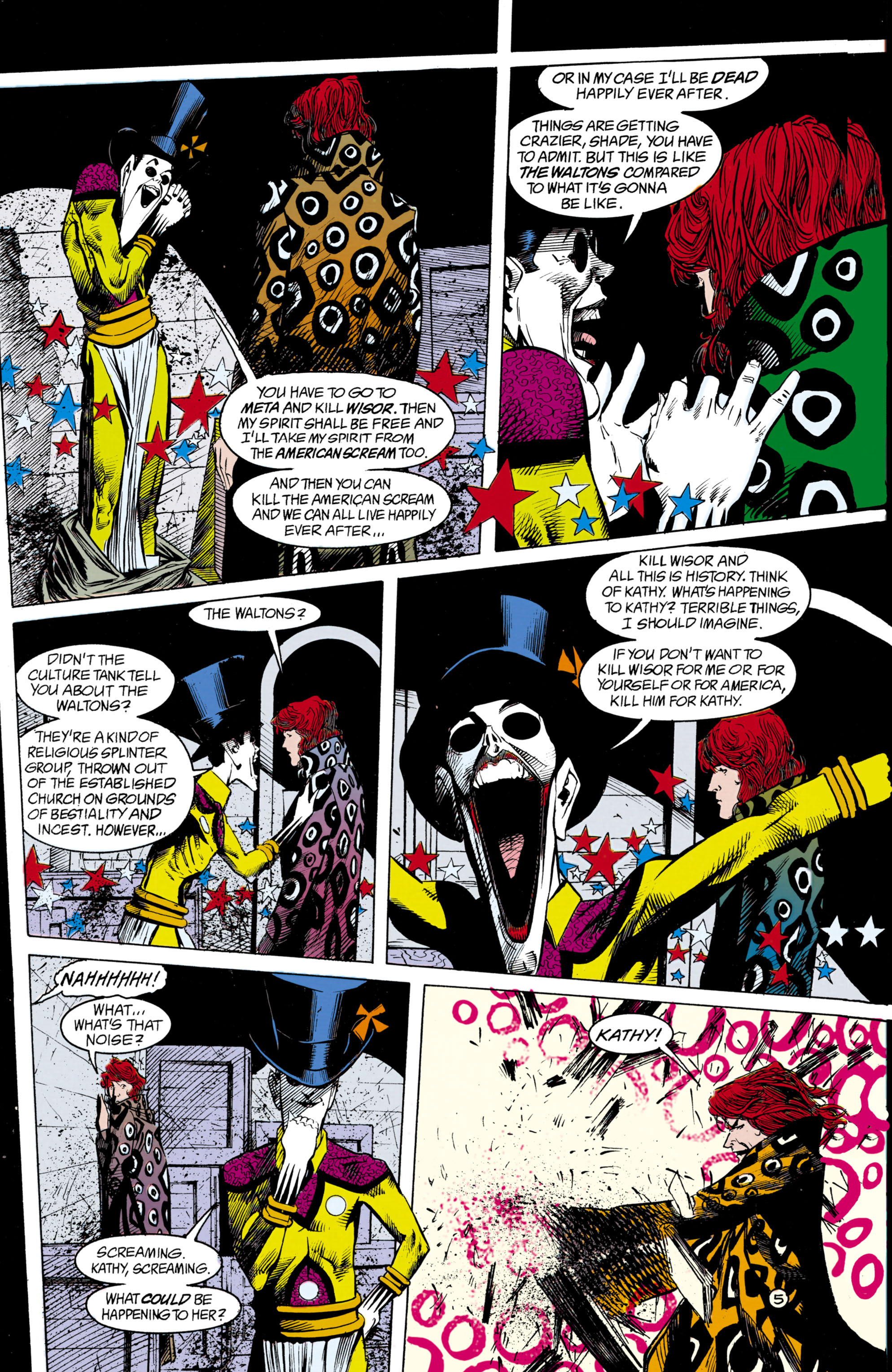 Read online Shade, the Changing Man comic -  Issue #18 - 6