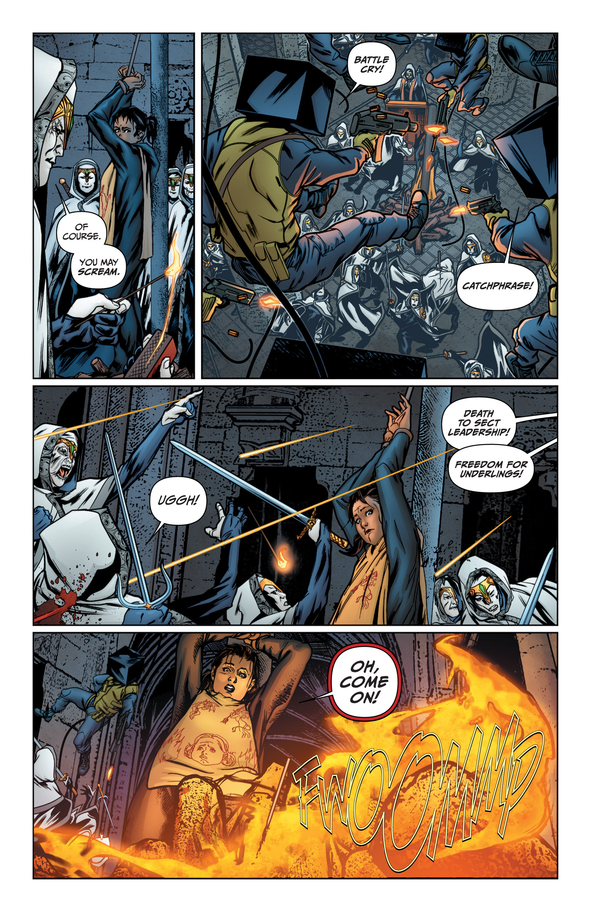Read online Archer and Armstrong comic -  Issue #16 - 7