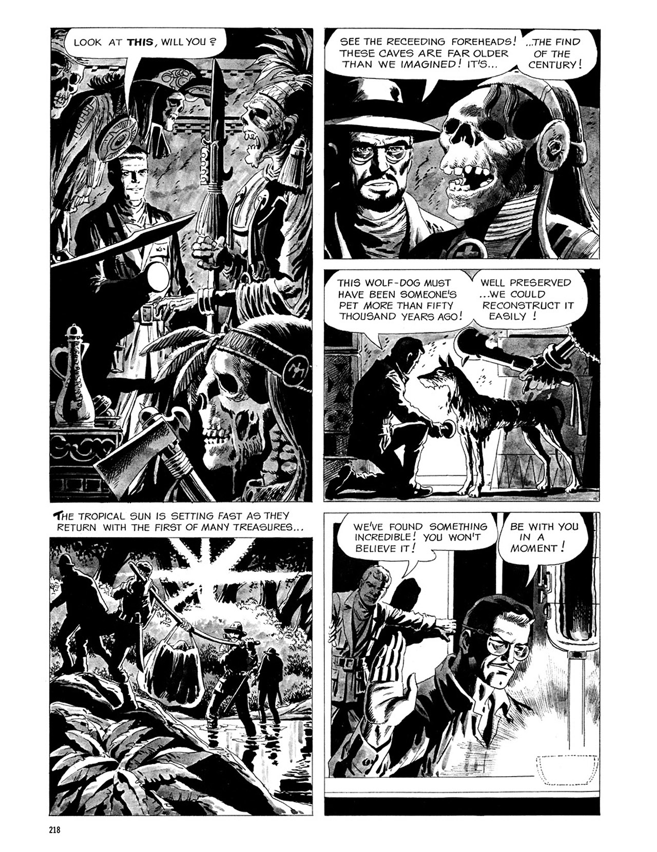 Read online Eerie Archives comic -  Issue # TPB 3 - 219