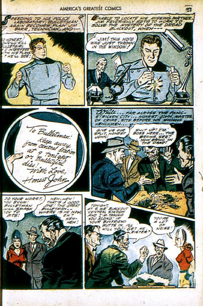 Read online America's Greatest Comics comic -  Issue #4 - 51