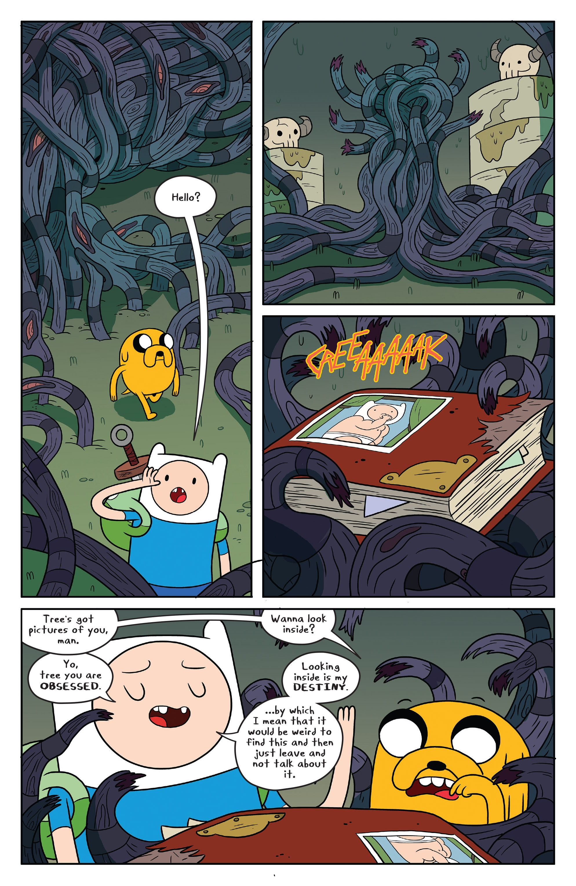 Read online Adventure Time comic -  Issue #50 - 9