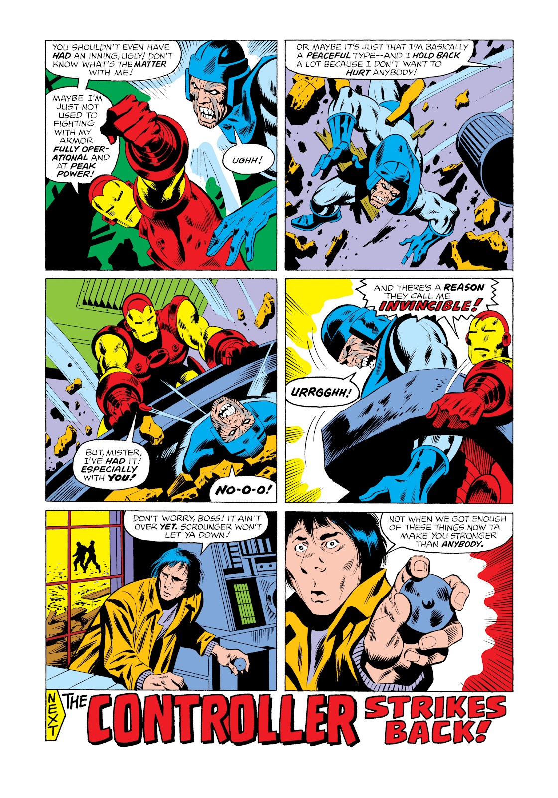 Read online Marvel Masterworks: The Invincible Iron Man comic -  Issue # TPB 11 (Part 3) - 10