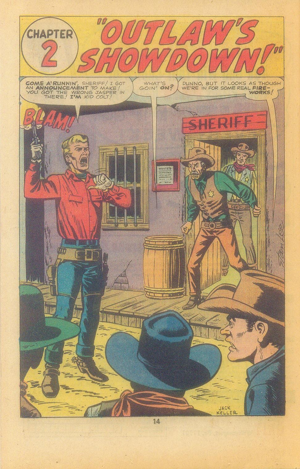Kid Colt Outlaw issue 197 - Page 16
