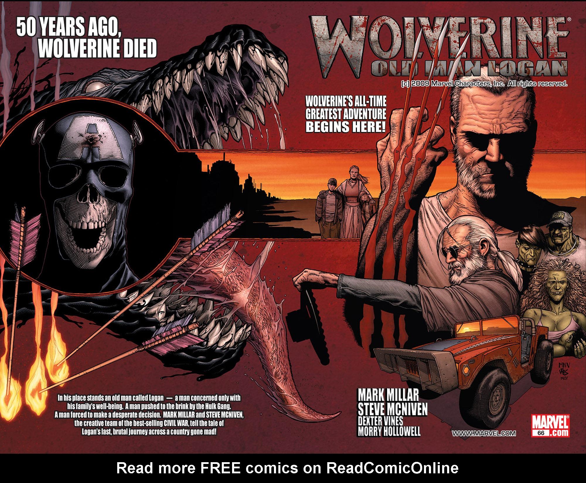 Read online Wolverine: Old Man Logan comic -  Issue # Full - 3