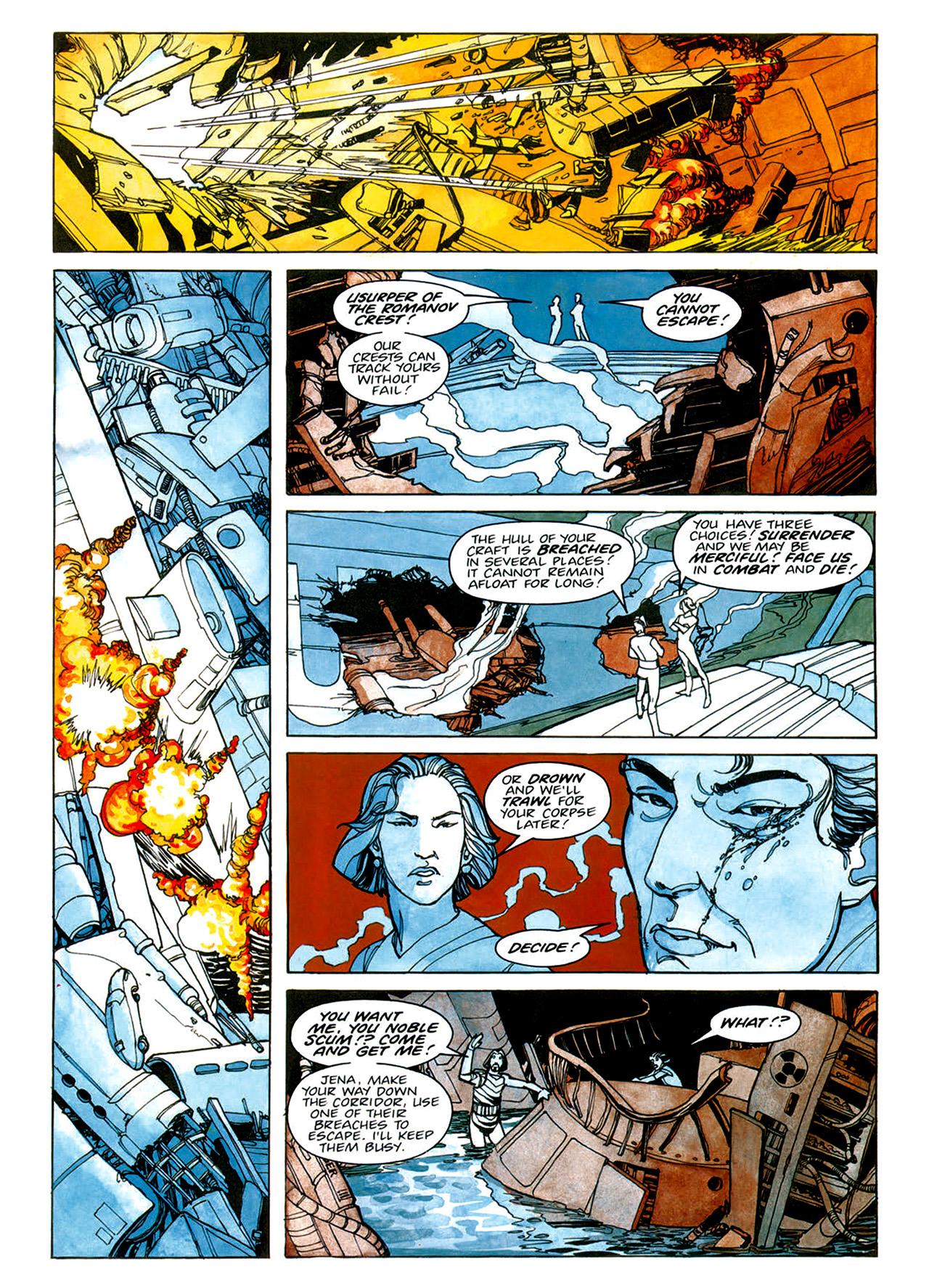 Read online Nikolai Dante comic -  Issue # TPB 1 - 36