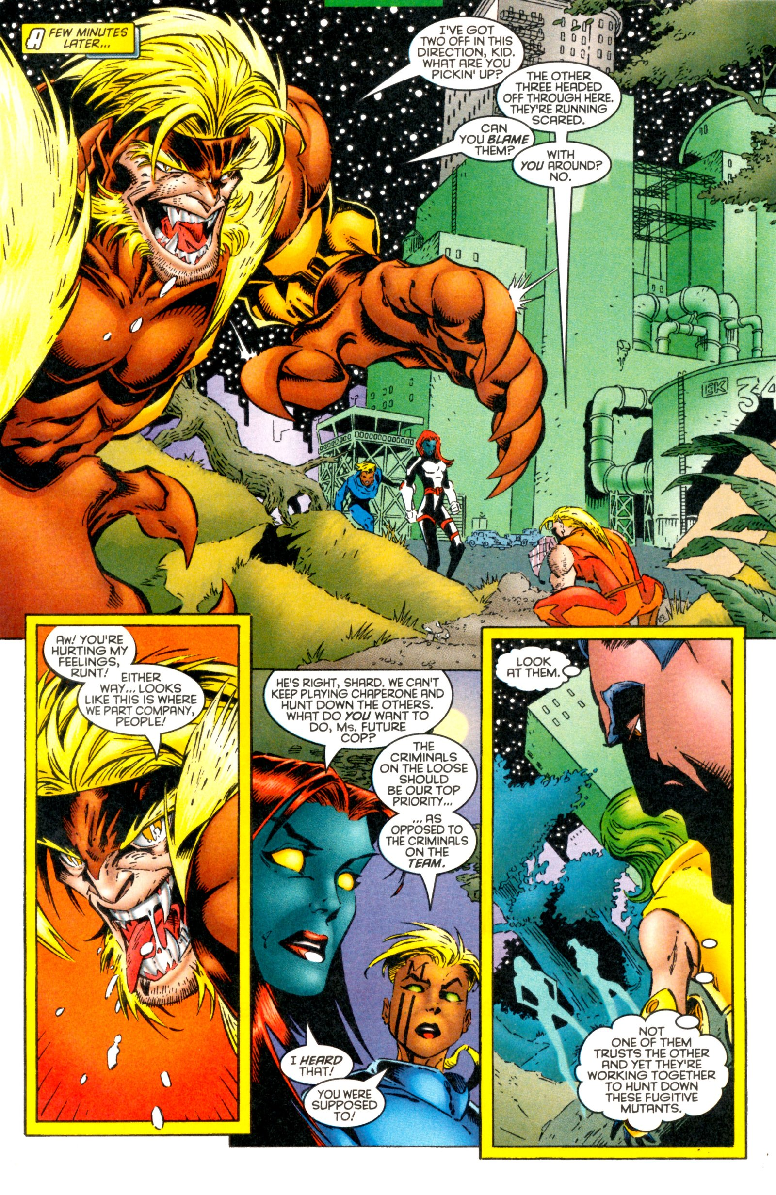 Read online X-Factor (1986) comic -  Issue #128 - 16