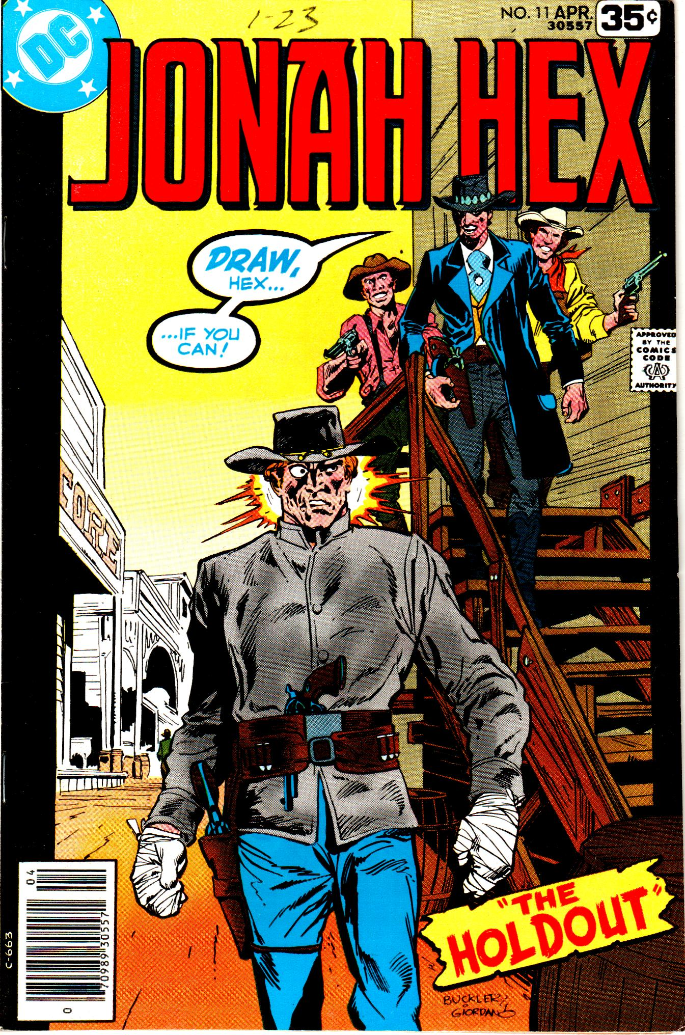 Jonah Hex (1977) 11 Page 1