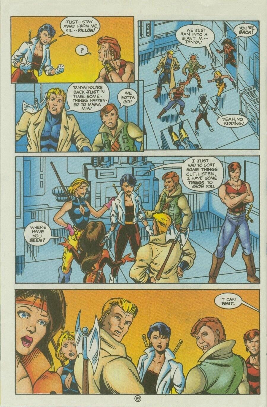 Read online Ex-Mutants comic -  Issue #10 - 23
