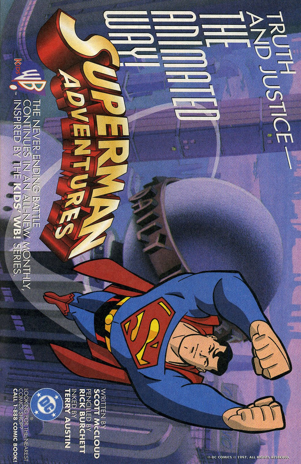 Read online Adventures in the DC Universe comic -  Issue #1 - 29