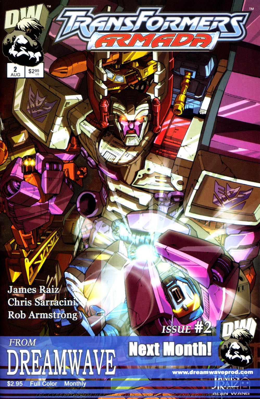 Read online Transformers Armada comic -  Issue #1 - 27