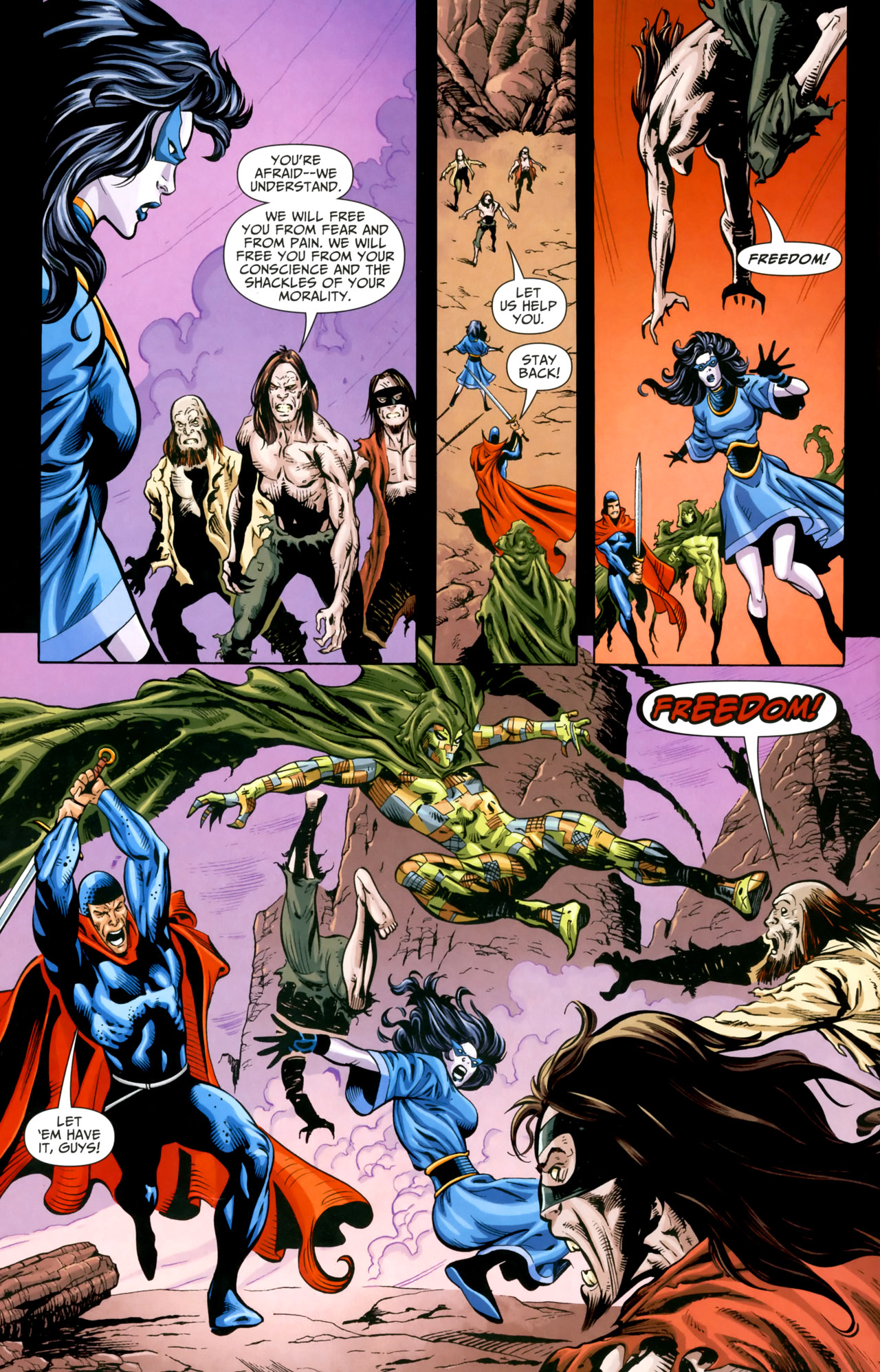 Read online Shadowpact comic -  Issue #18 - 9