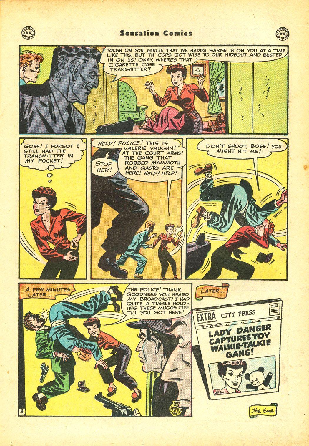 Read online Sensation (Mystery) Comics comic -  Issue #86 - 23