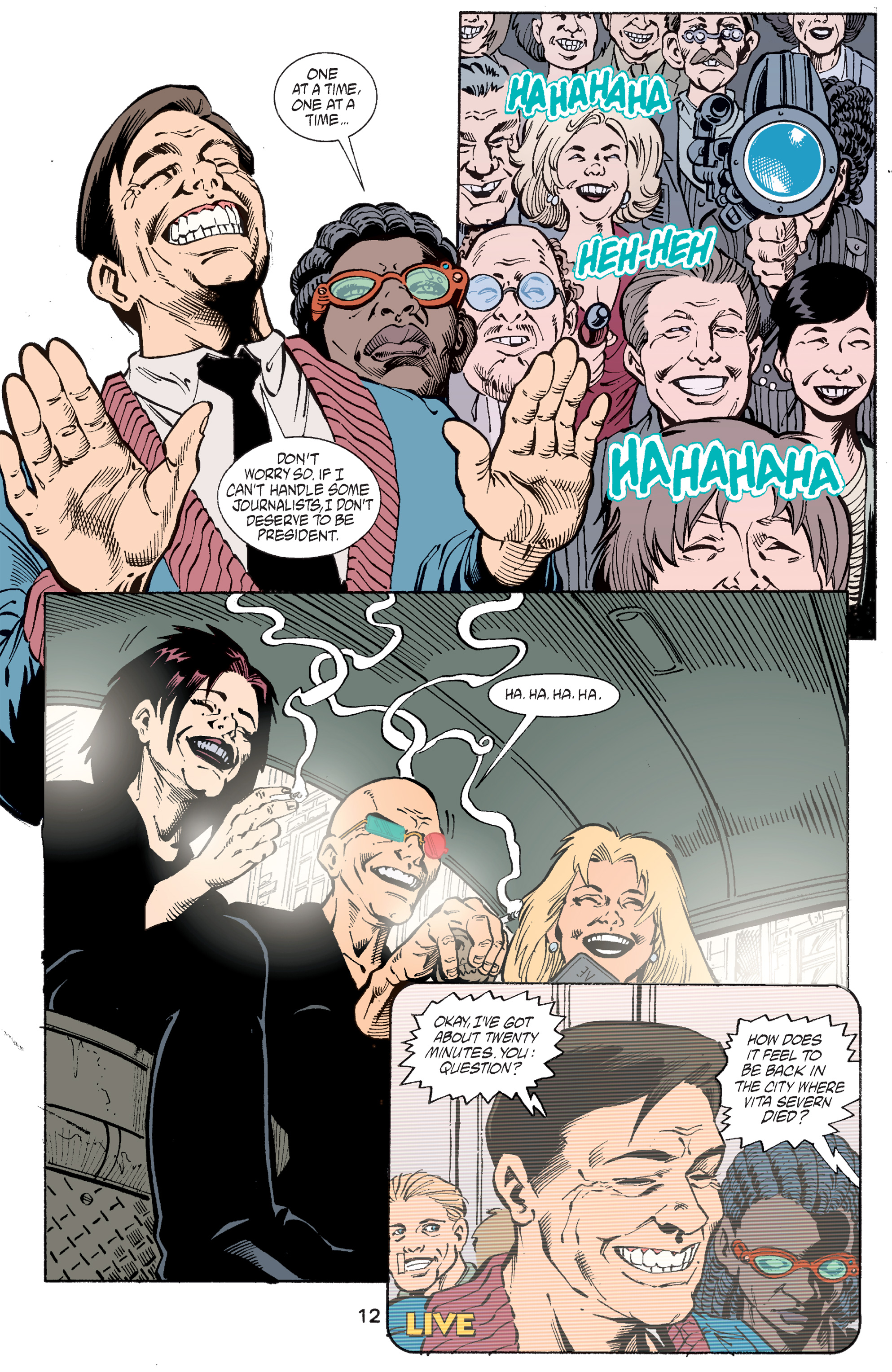 Read online Transmetropolitan comic -  Issue #47 - 13