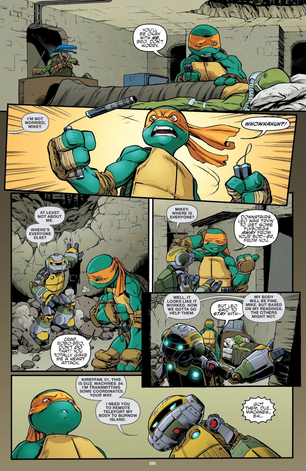 Read online Teenage Mutant Ninja Turtles: The IDW Collection comic -  Issue # TPB 6 (Part 2) - 97
