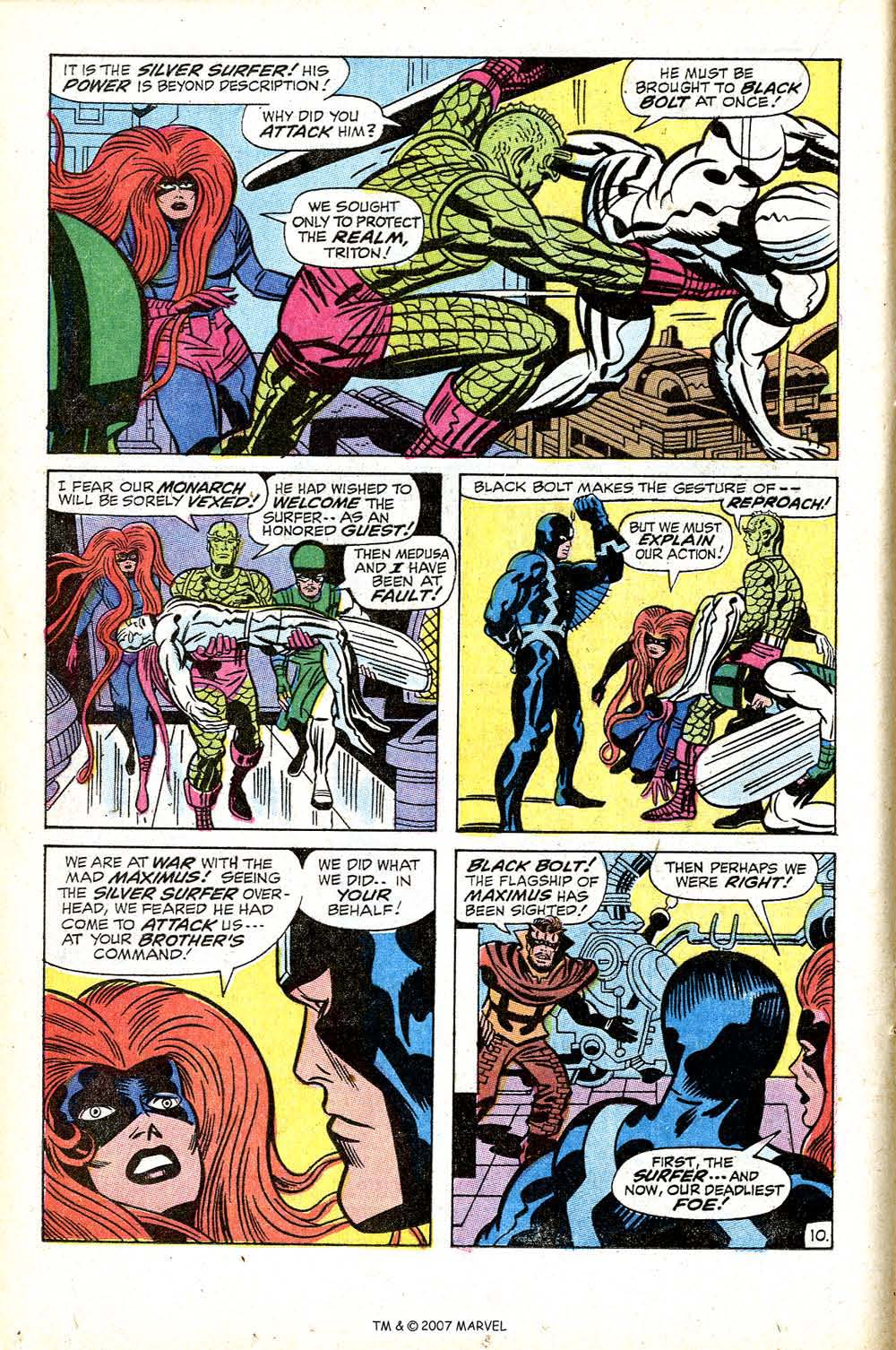 Silver Surfer (1968) issue 18 - Page 16
