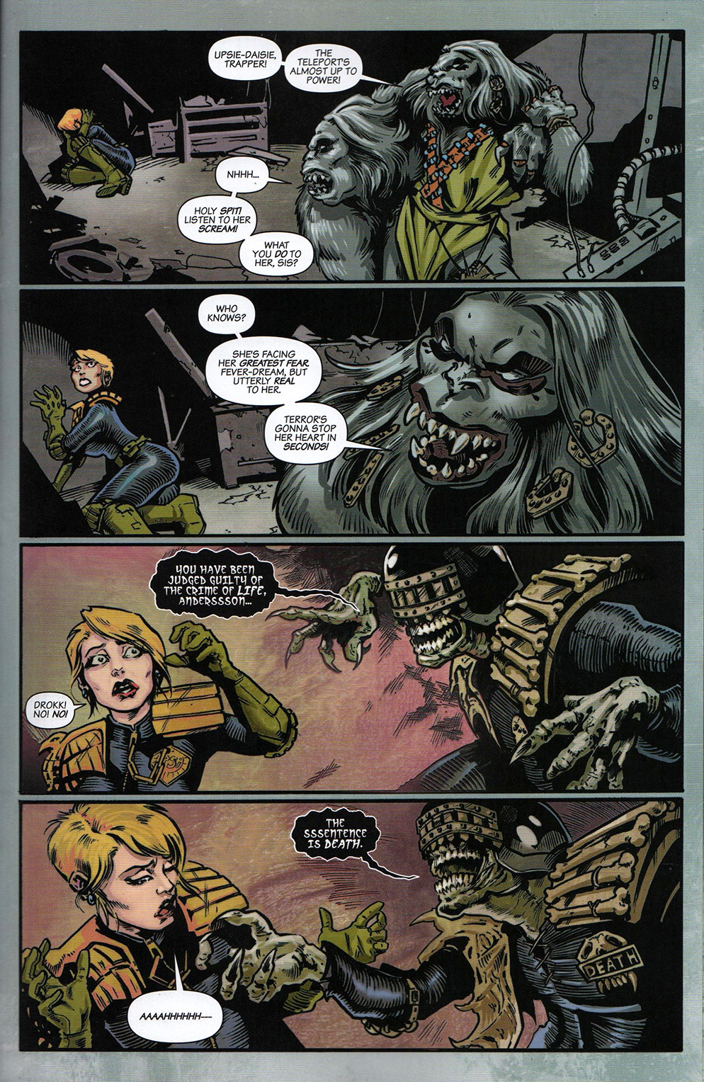 Read online Free Comic Book Day 2017 comic -  Issue # 2000 AD prog - 22
