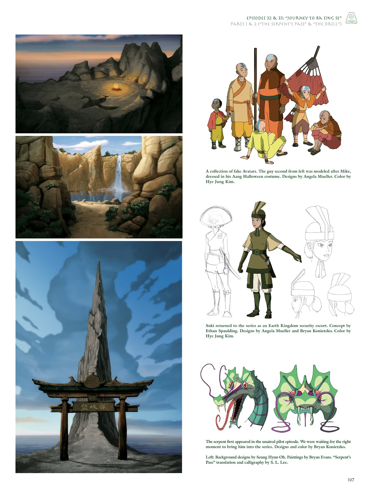 Read online Avatar: The Last Airbender - The Art of the Animated Series comic -  Issue # TPB (Part 2) - 6