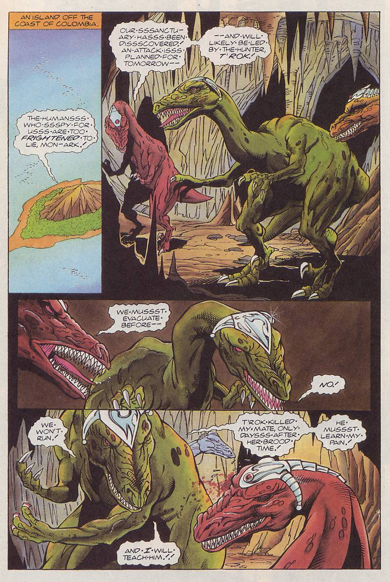 Read online Turok, Dinosaur Hunter (1993) comic -  Issue #3 - 6