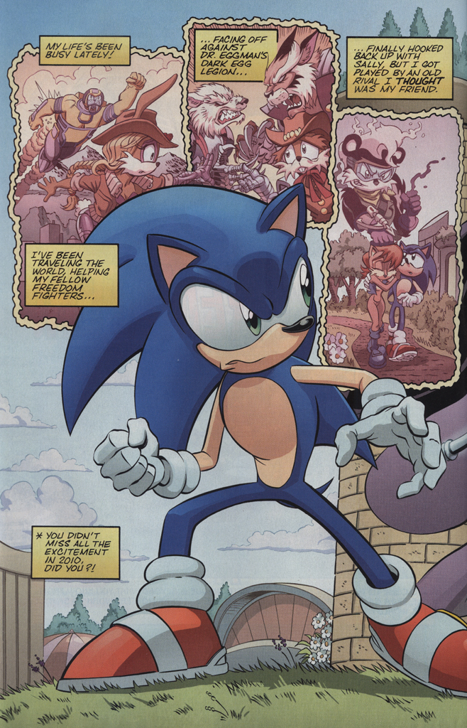 Read online Sonic the Hedgehog Free Comic Book Day Edition comic -  Issue # Special 5 - 4