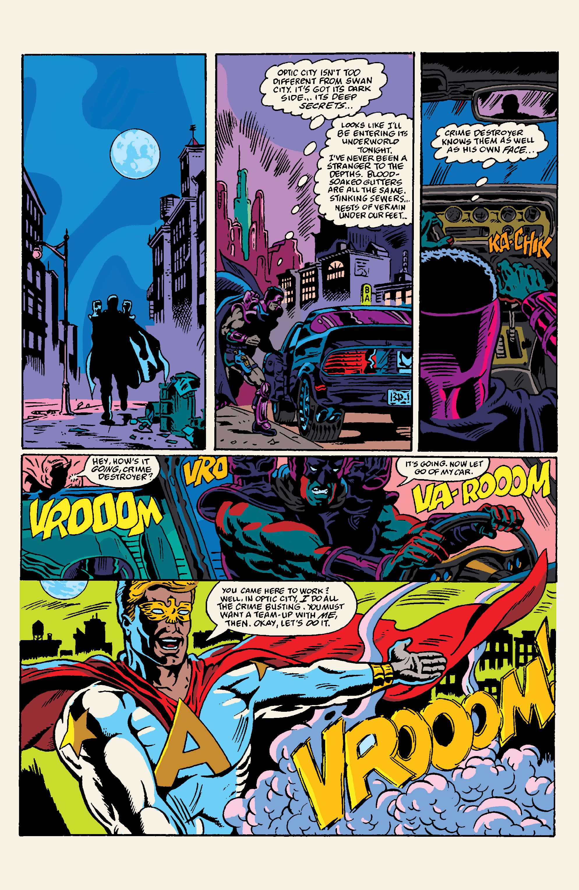 Read online All Time Comics: Crime Destroyer comic -  Issue #1 - 6