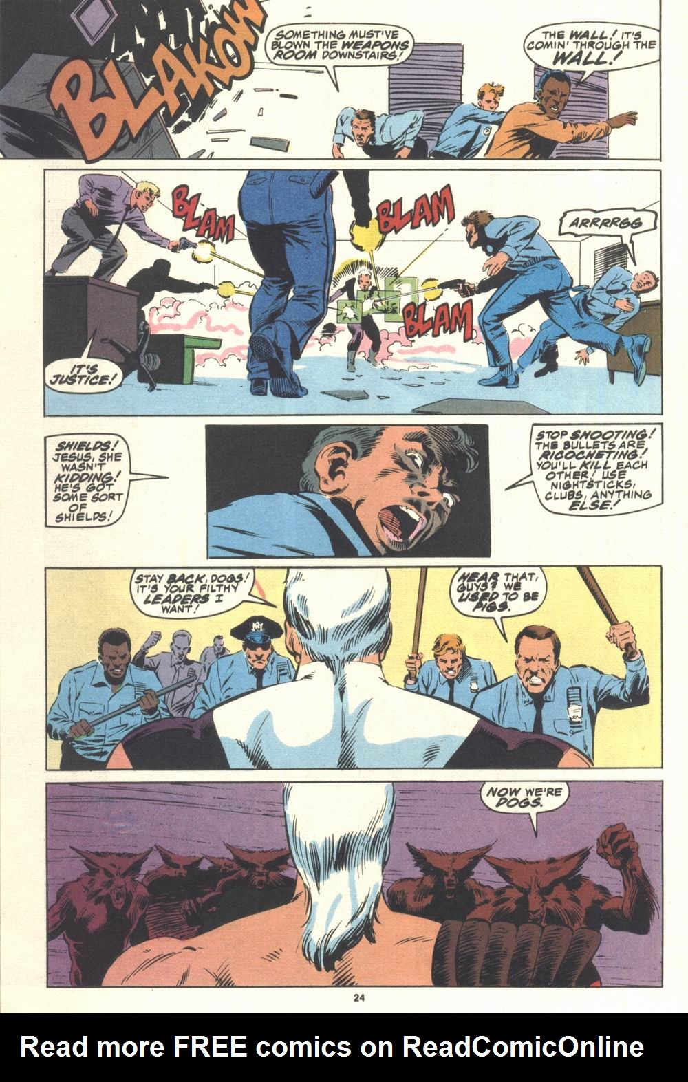 Read online Justice (1986) comic -  Issue #21 - 26
