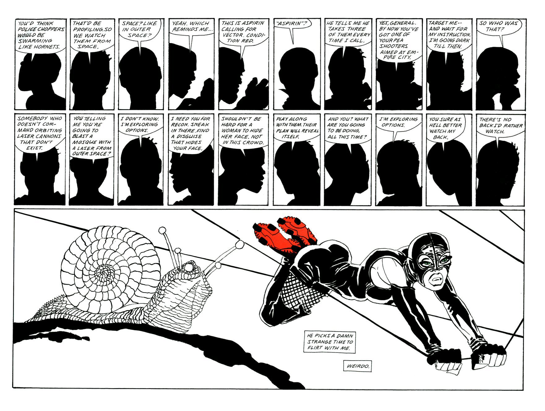 Read online Frank Miller's Holy Terror comic -  Issue # TPB - 97