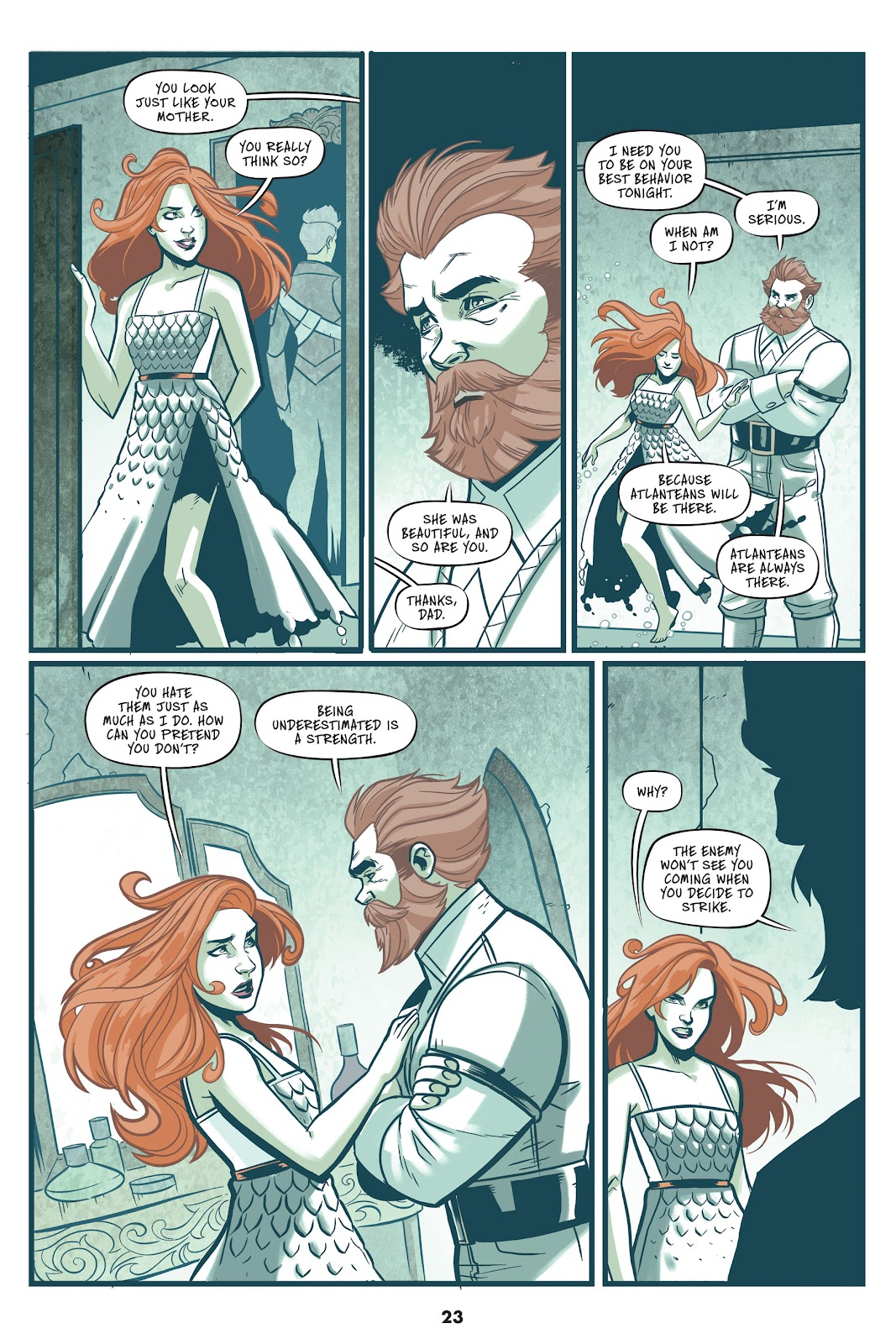Read online Mera: Tidebreaker comic -  Issue # TPB (Part 1) - 23