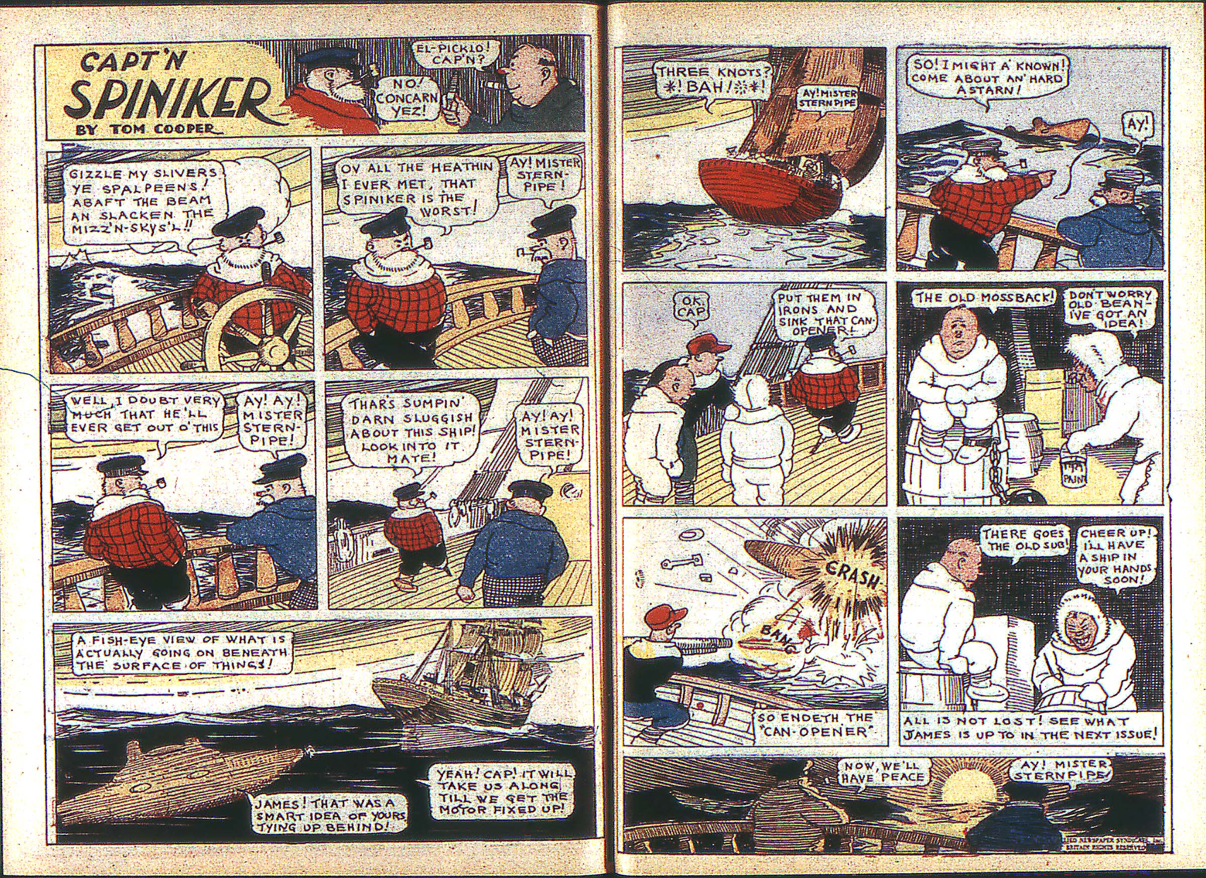 Read online Adventure Comics (1938) comic -  Issue #2 - 36