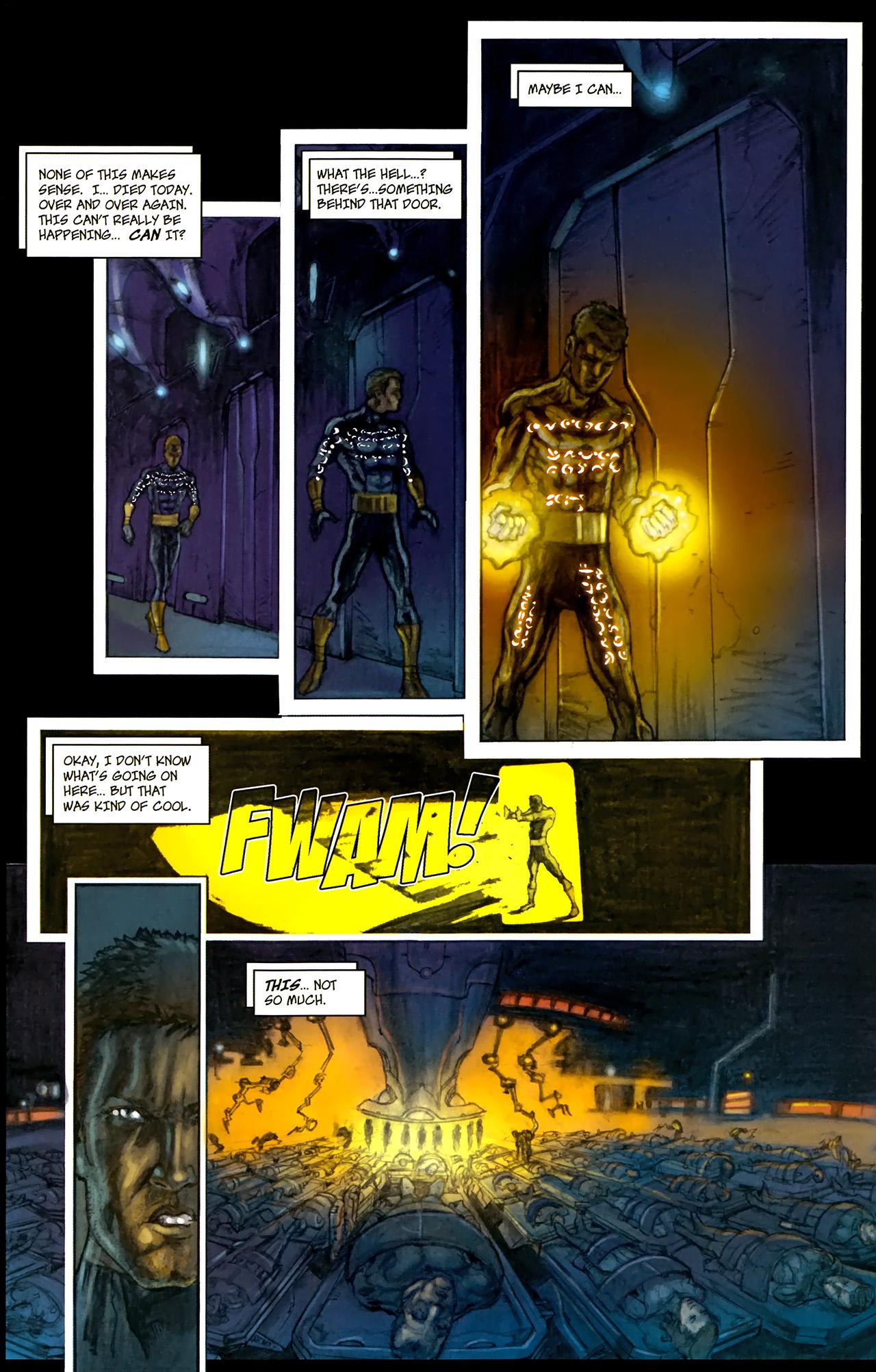 Read online Phoenix comic -  Issue #1 - 9