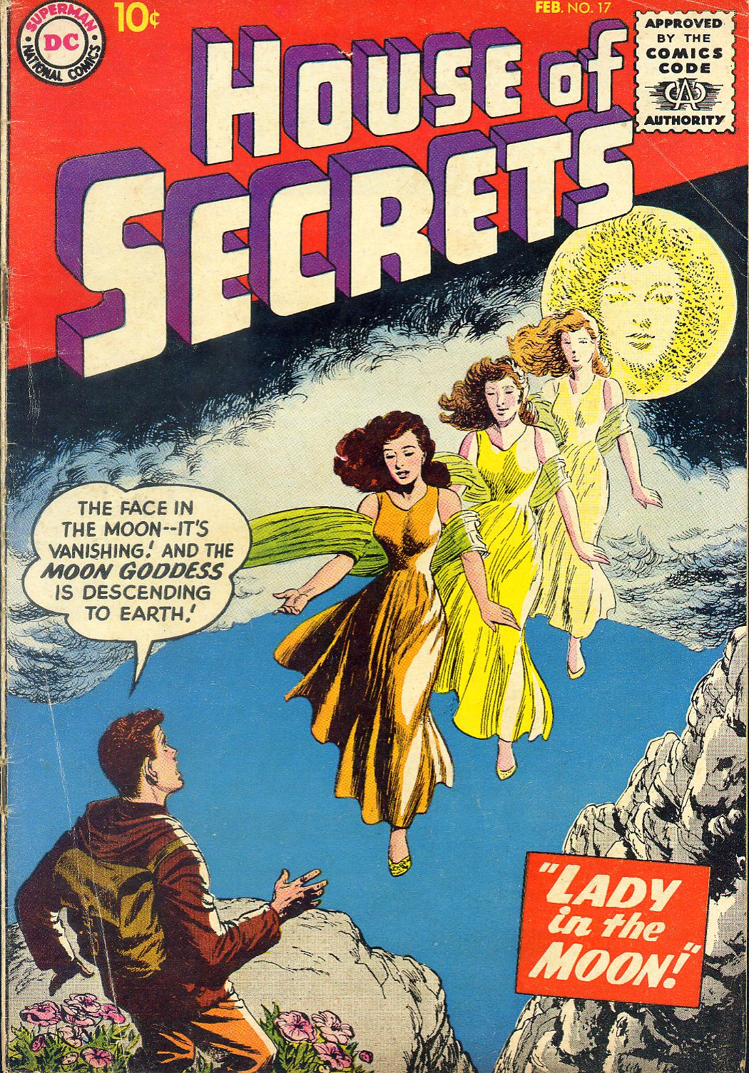 House of Secrets (1956) issue 17 - Page 1