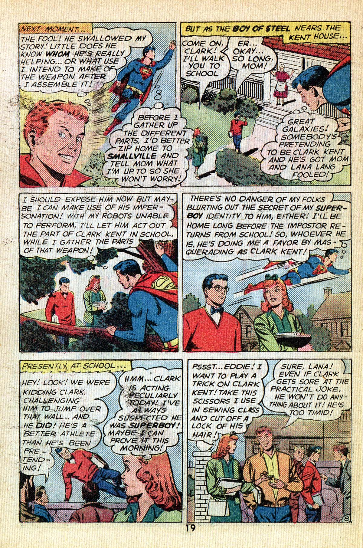 Read online Adventure Comics (1938) comic -  Issue #495 - 19