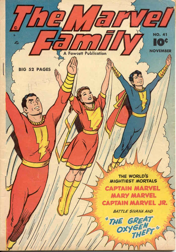 The Marvel Family issue 41 - Page 1