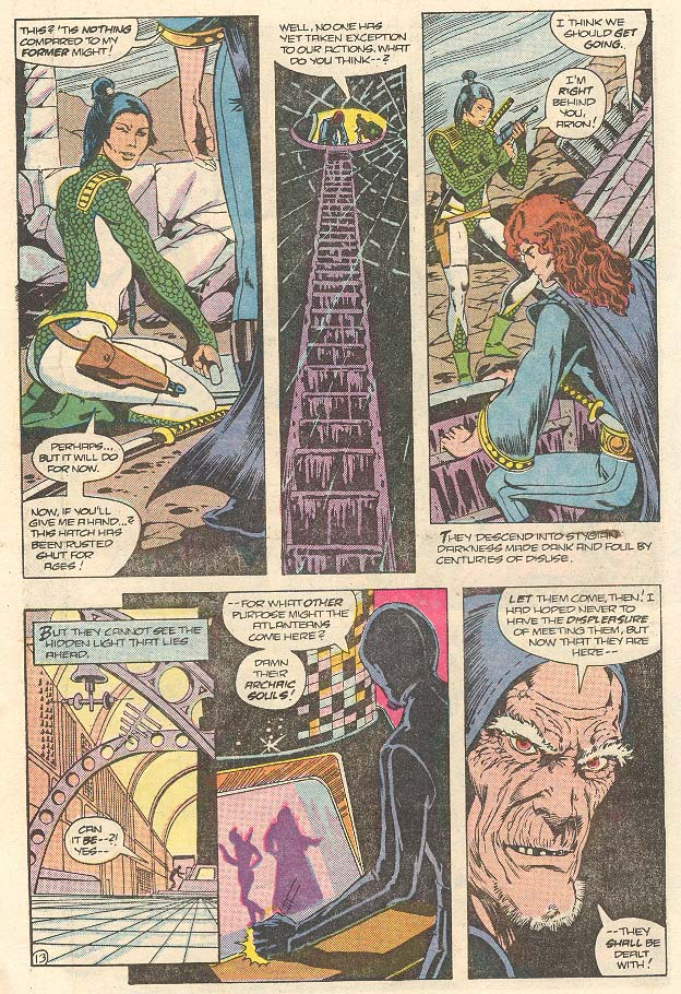 Read online Arion, Lord of Atlantis comic -  Issue #30 - 14