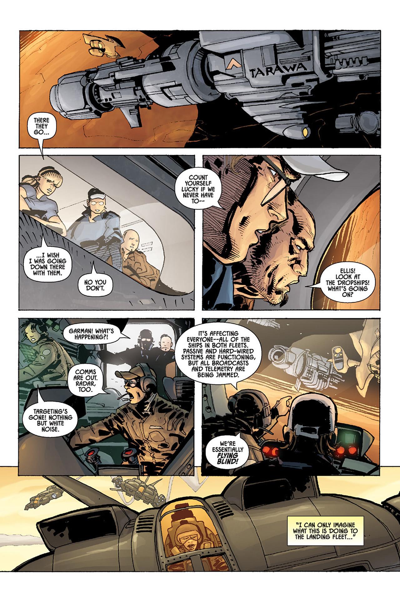 Read online Aliens vs. Predator: Three World War comic -  Issue #4 - 7
