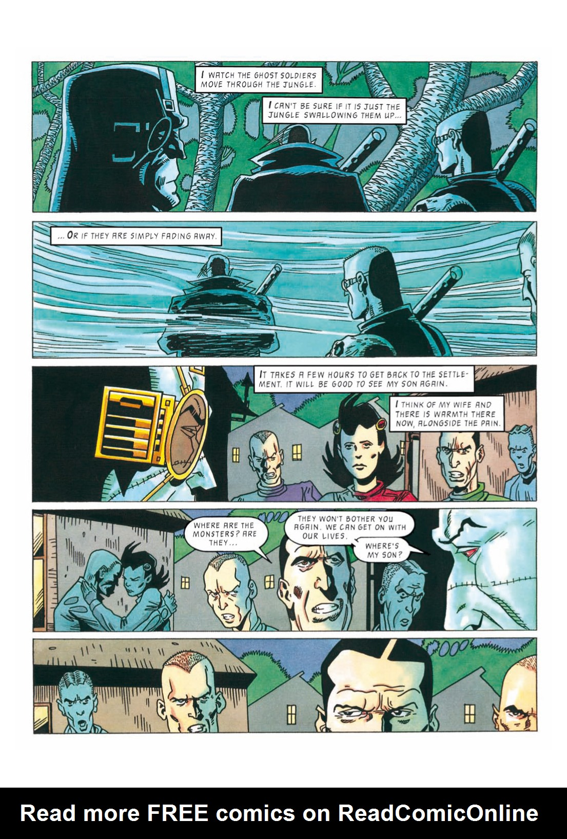 Read online The Complete Bad Company comic -  Issue # TPB - 315