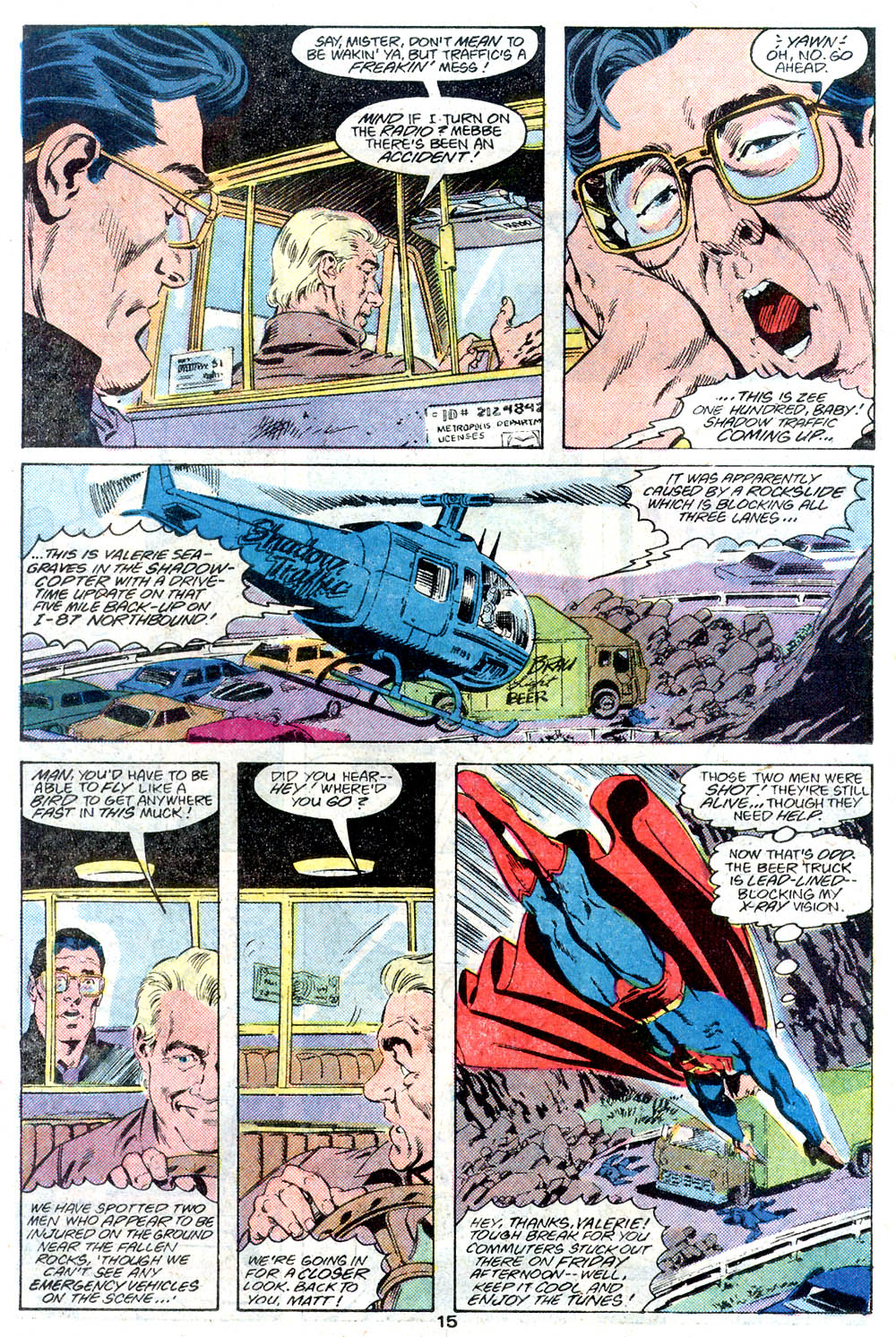 Read online Adventures of Superman (1987) comic -  Issue #446 - 16