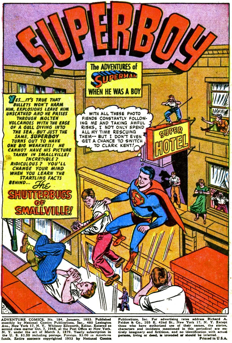 Read online Adventure Comics (1938) comic -  Issue #184 - 3
