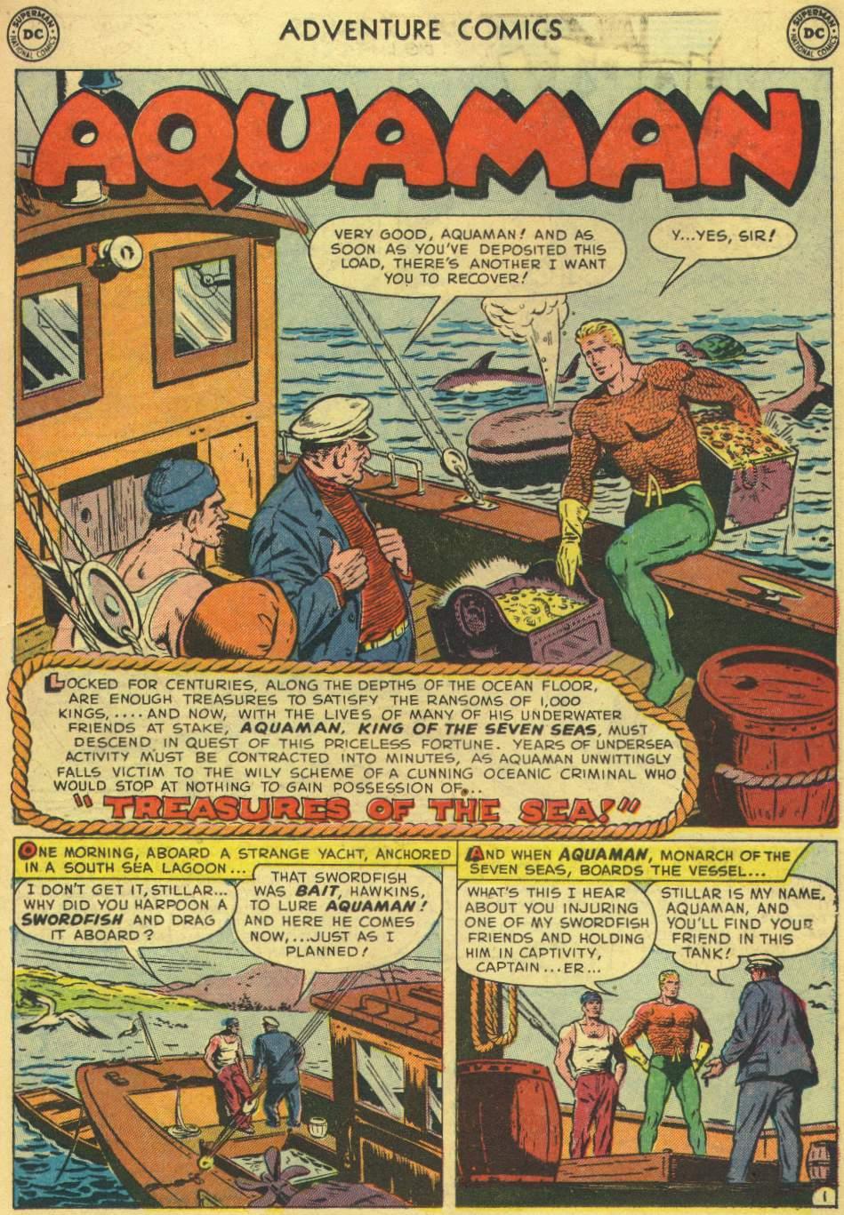 Read online Adventure Comics (1938) comic -  Issue #167 - 17