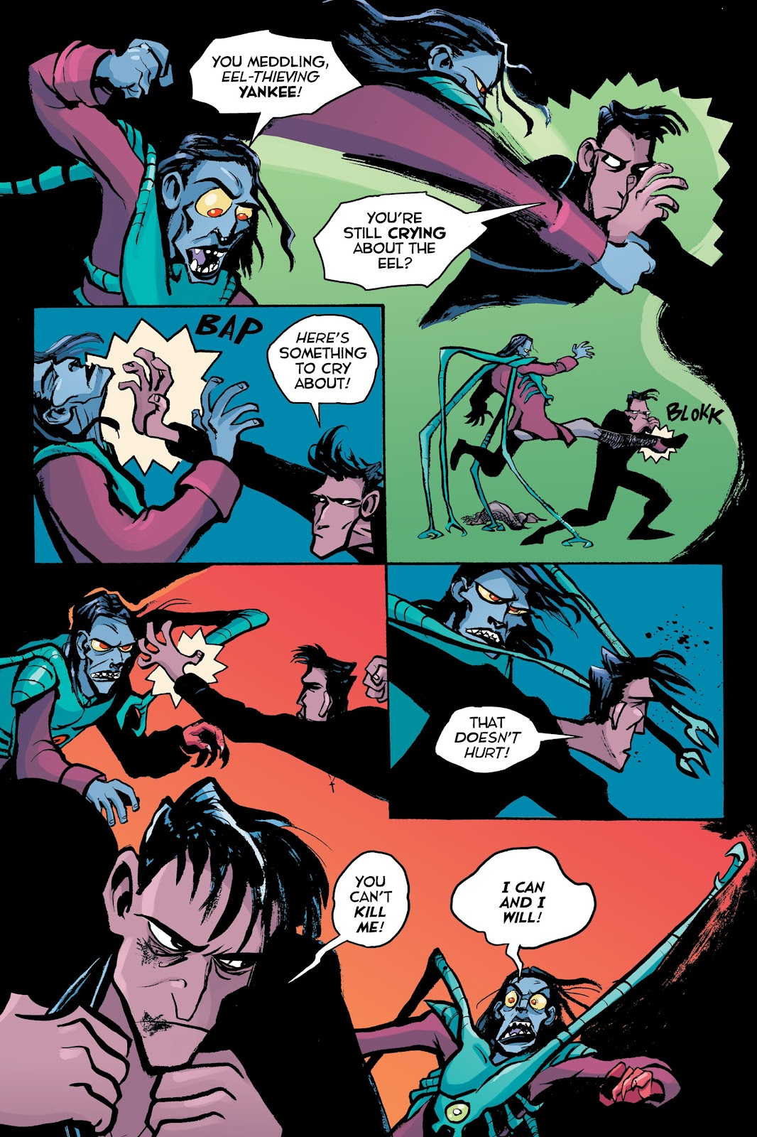 Read online Creature Tech (2019) comic -  Issue # TPB (Part 2) - 95