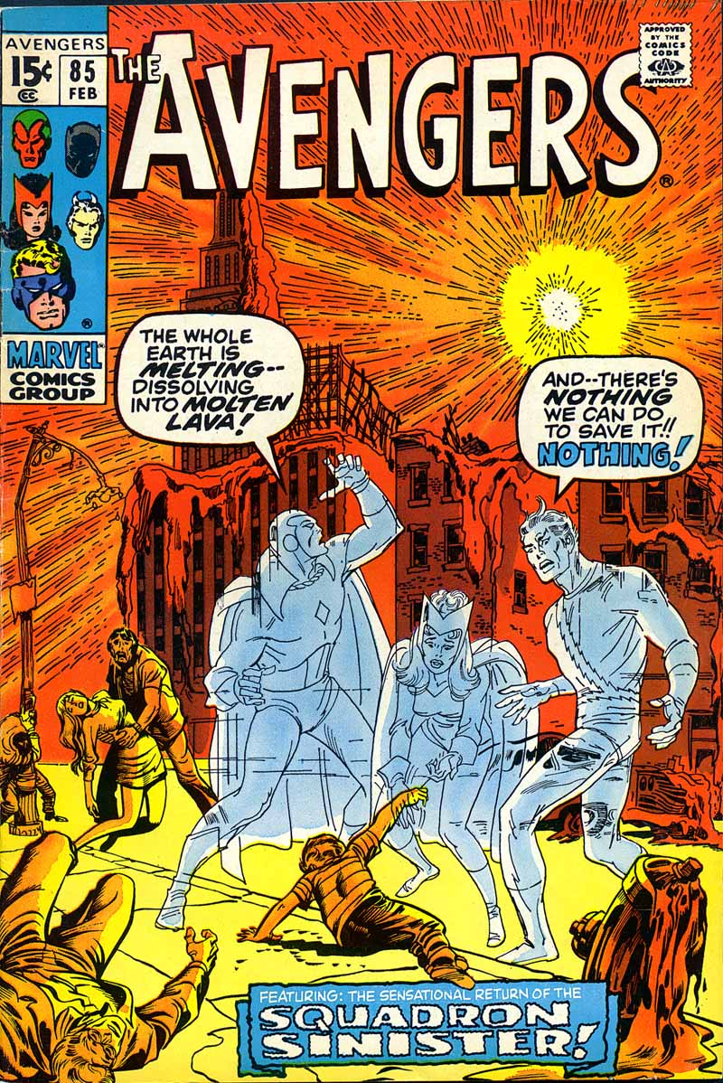 The Avengers (1963) 85 Page 1