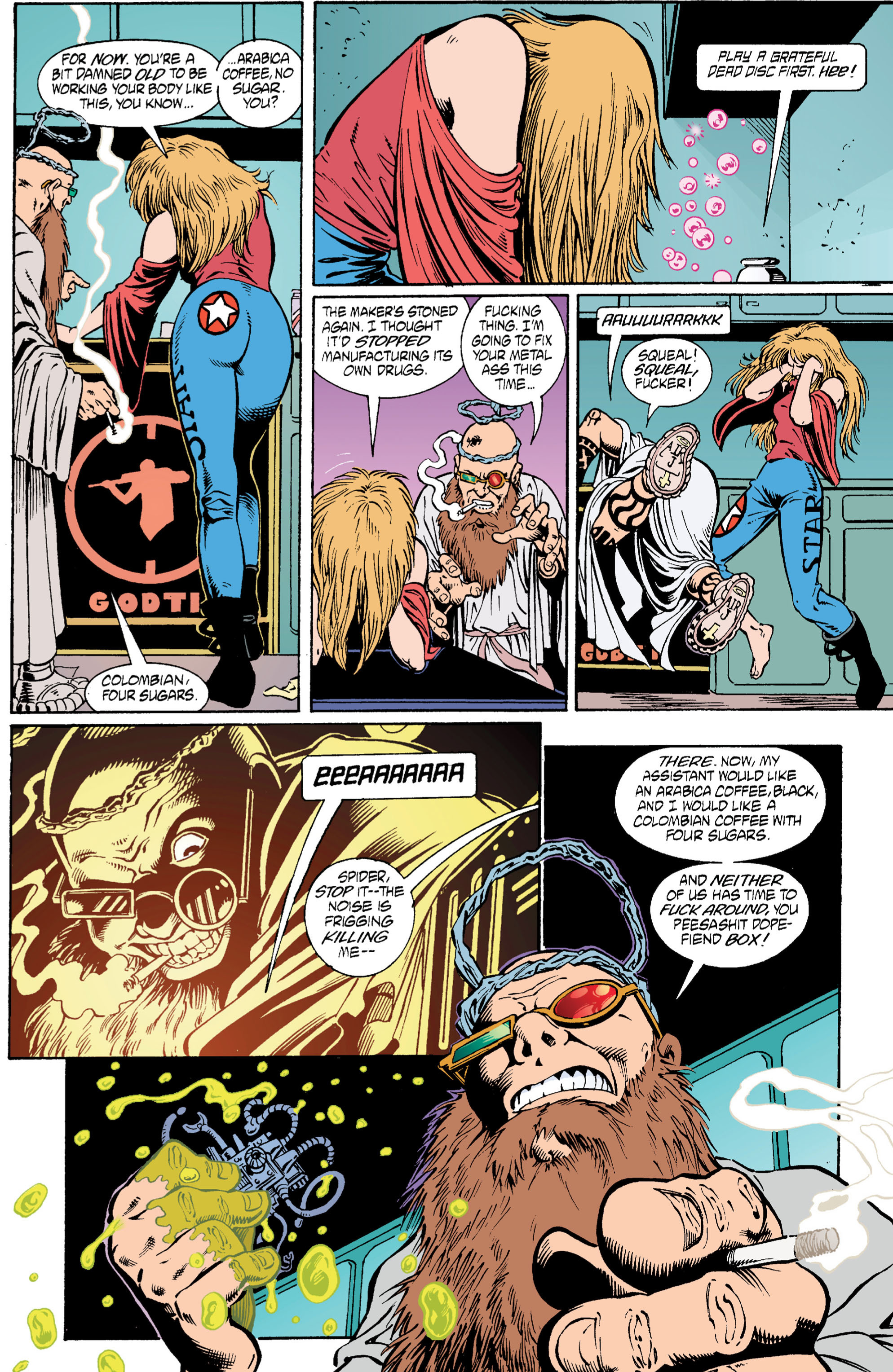 Read online Transmetropolitan comic -  Issue #6 - 5