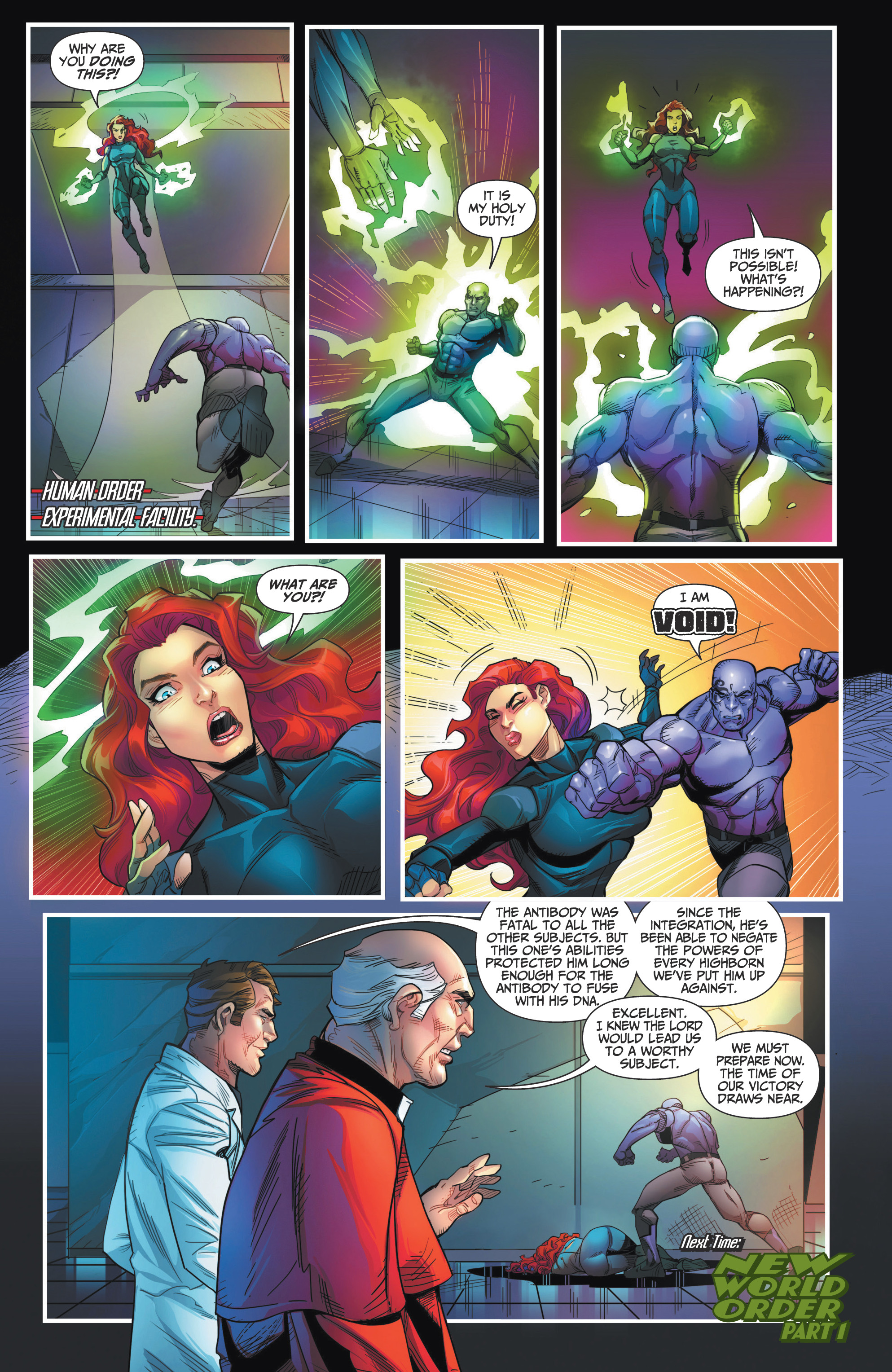 Read online Grimm Fairy Tales presents Red Agent: The Human Order comic -  Issue #7 - 24