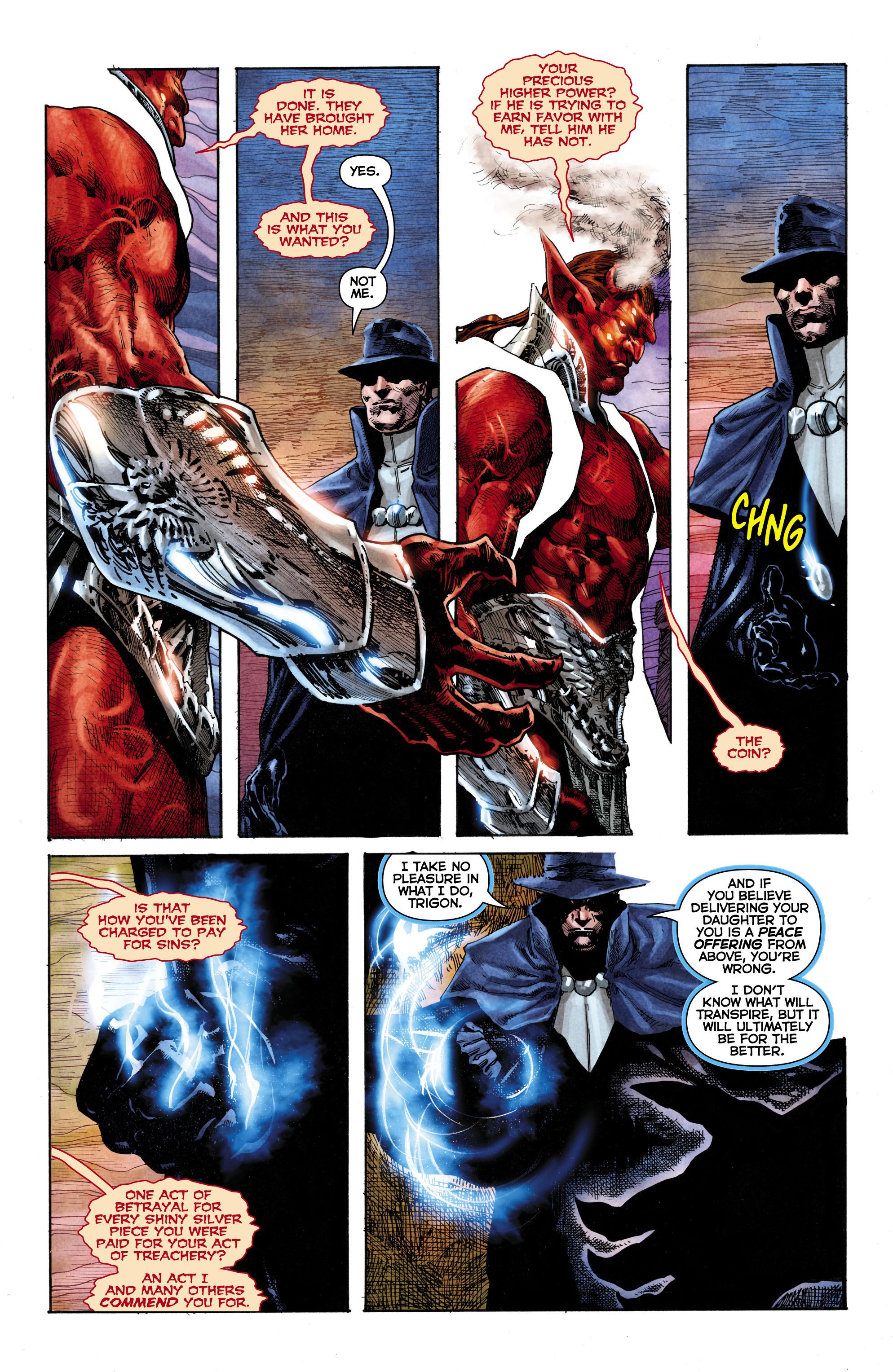 Read online Trinity of Sin: The Phantom Stranger comic -  Issue #1 - 17