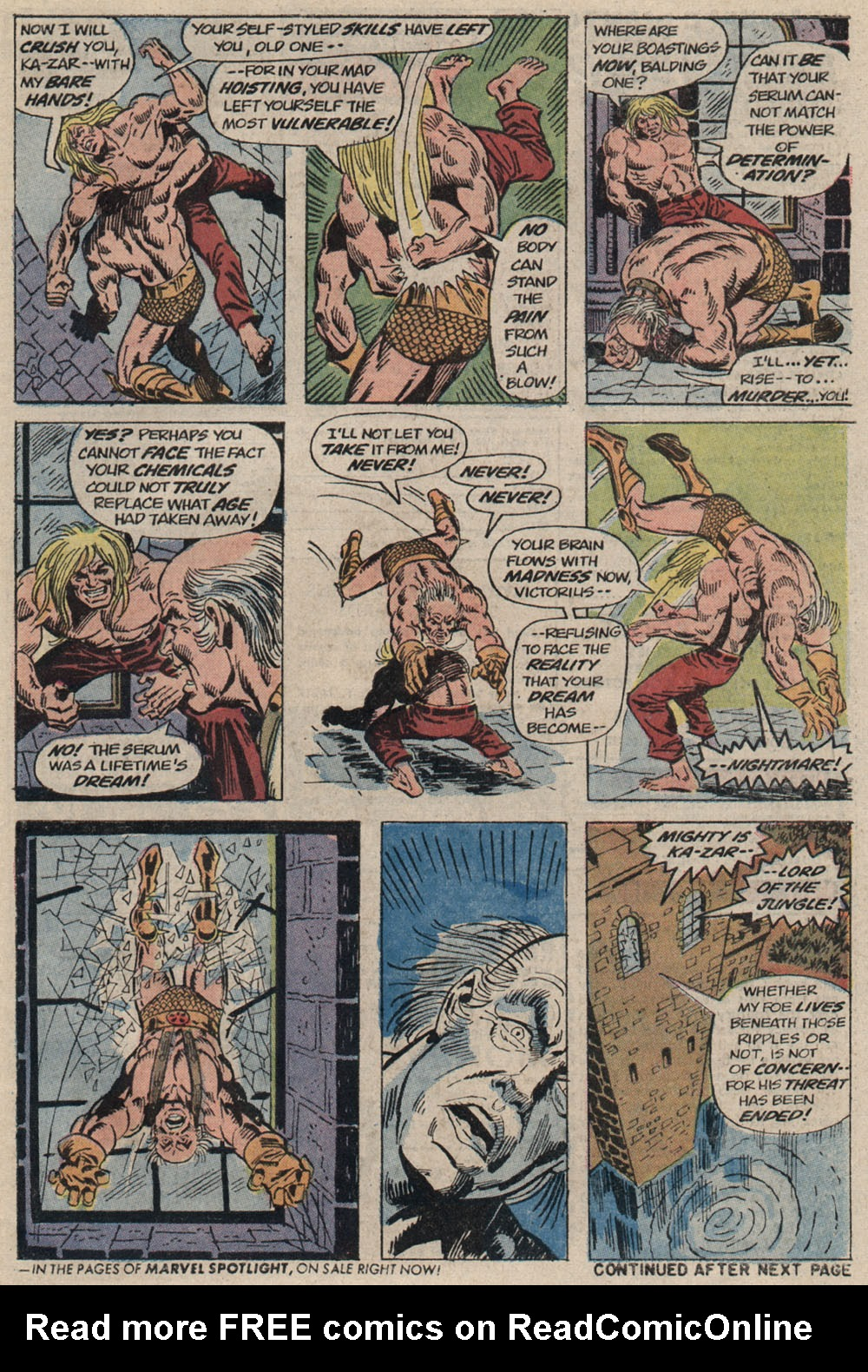 Read online Astonishing Tales (1970) comic -  Issue #20 - 18