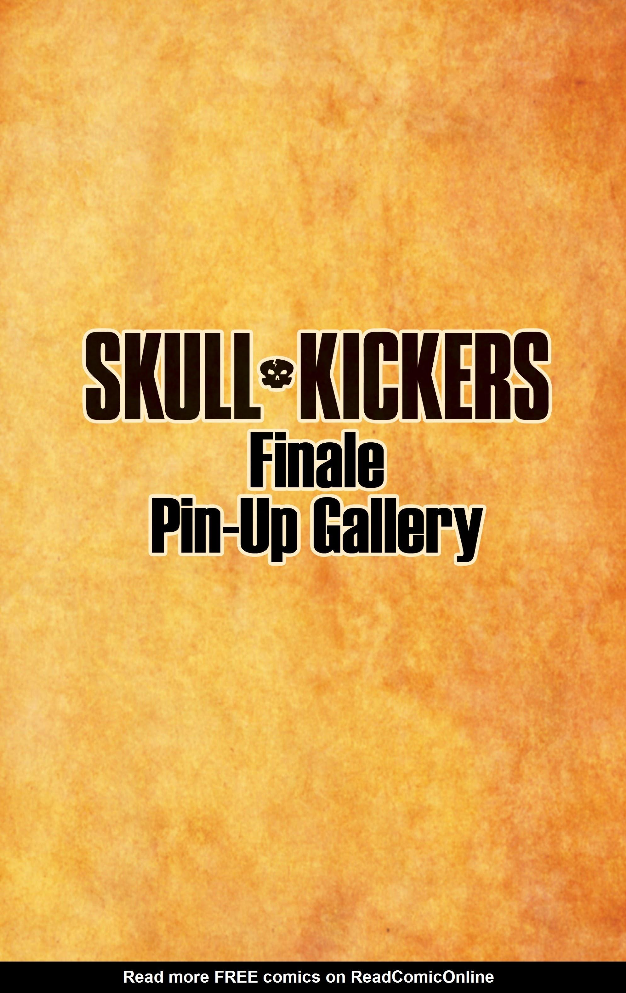 Read online Skullkickers comic -  Issue #100 - 25